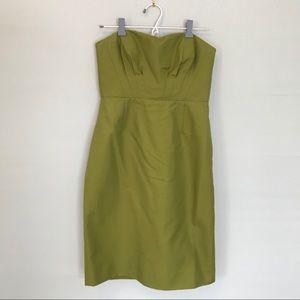 J Crew Cotton Strapless Dress